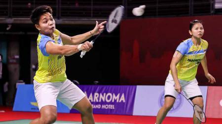 Media Thailand sesumbar jika Jongkolphan Kititharakul/Rawinda Prajongjai bakal bermain keras pada saat hadapi Greysia Polii/Apriyani Rahayu di Thailand Open. - INDOSPORT