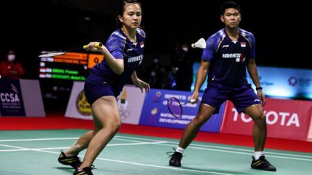 Praveen/Melatih kalah di final Thailand Open 2021. - INDOSPORT