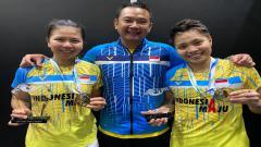 Indosport - Greysia Polii/Apriyani Rahayu, Juara YONEX Thailand Open 2021.