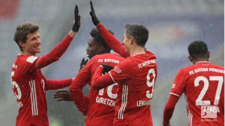Berikut adalah hasil pertandingan pekan ke-16 Bundesliga Jerman yang mempertemukan Bayern Munchen vs Freiburg yang berakhir dengan kemenangan untuk Die Roten. - INDOSPORT
