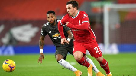 Aksi Pemain Liverpool Saat Menghadapi Manchester United - INDOSPORT