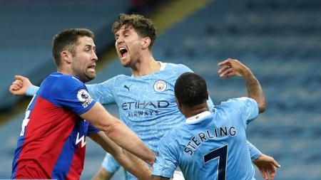 Berikut adalah hasil pertandingan pekan ke-19 Liga Inggris antara Manchester City vs Crystal Palace yang berakhir dengan kemenangan telak untuk The Citizens. - INDOSPORT