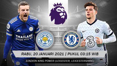 Link Live Streaming Big Match Liga Inggris: Leicester City vs Chelsea, Tuan Rumah Bidik Posisi Puncak Klasemen. - INDOSPORT