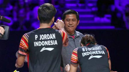 Nova Widianto beberkan apa yang menjadi penyebab Praveen Jordan/Melati Daeva Oktavianti dan kolega tampil kurang greget di dua edisi Thailand Open 2021. - INDOSPORT