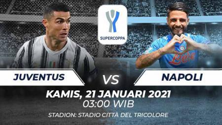 Link Live Streaming Supercoppa Italia Juventus vs Napoli. - INDOSPORT