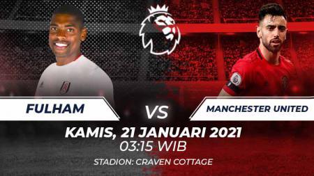 Link Live Streaming Fulham vs Manchester United. - INDOSPORT