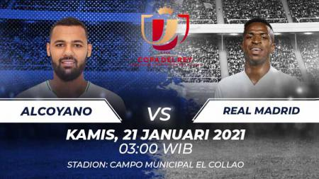 Alcoyano vs Real Madrid. - INDOSPORT