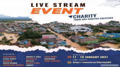 Indosport - Donasi komunitas AOV untuk banjir Kalsel.