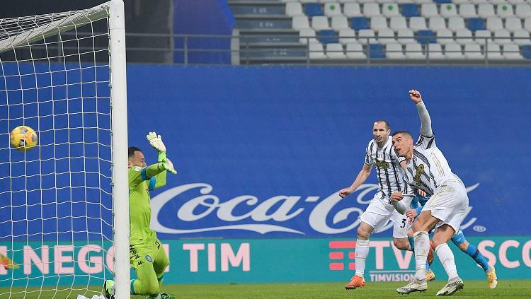 Hasil Pertandingan Supercoppa Italiana Juventus vs Napoli: Ronaldo Raja Gol, Juventus Juara