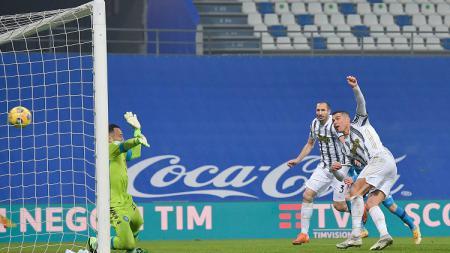 Hasil pertandingan Supercoppa Italiana antara Juventus vs Napoli. Cristiano Ronaldo bawa Juventus juara dan dirinya jadi pencetak gol terbanyak sepanjang masa. - INDOSPORT