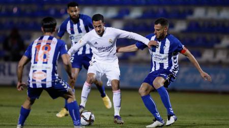 Berikut hasil pertandingan Copa del Rey Alcoyano vs Real Madrid. - INDOSPORT