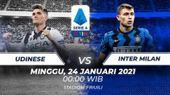 Indosport - Link Live Streaming Serie A Liga Italia: Udinese vs Inter Milan