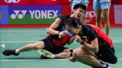 Indosport - Pasangan ganda campuran Malaysia, Hoo Pang Ron/Cheah Yee See.