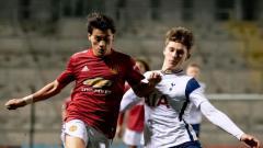 Indosport - Pemain Manchester United asal Uruguay, Facundo Pellistri.
