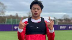 Indosport - Pemain Garuda Select 3, Dustin Pratama Bramantio.
