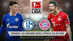 Indosport - Berikut tersaji link live streaming pertandingan Bundesliga Jerman 2020-2021 antara Schalke 04 vs Bayern Munchen yang akan berlangsung di Veltins-Arena.