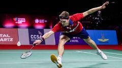Indosport - Pebulutangkis tunggal putra Denmark, Viktor Axelsen.