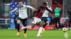 Indosport - Duel di laga AC Milan vs Atalanta.