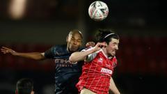 Indosport - Berikut hasil pertandingan Piala FA antara Manchester City lawan tim kasta empat Liga Inggris, Cheltenham.