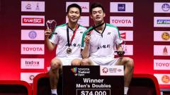 Indosport - Pengakuan pasangan ganda putra Chinese Taipei Lee Yang/Wang Chi-lin soal pebulutangkis Indonesia dan Malaysia jadi sorotan media China.
