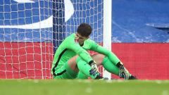 Indosport - Mimpi buruk Kepa Arrizabalaga di Chelsea segera berakhir setelah Juventus menyatakan siap menampung kiper termahal sepanjang masa itu.