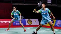 Indosport - Ganda campuran Indonesia, Hafiz Faizal/Gloria Emanuelle Widjaja.