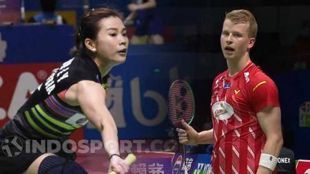 Kim Astrup dan Goh Liu Ying. - INDOSPORT