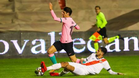 Francisco Trincao di laga Rayo Vallecano vs Barcelona - INDOSPORT