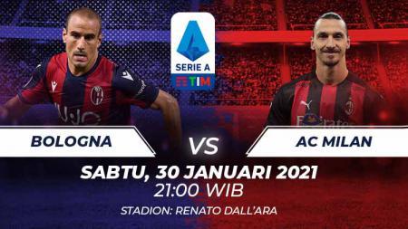 Berikut link live streaming pertandingan Serie A Liga Italia 2020-2021 antara Bologna vs AC Milan yang akan berlangsung di Stadion Renato Dall'Ara. - INDOSPORT