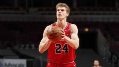 Indosport - Lauri Markkanen, pebasket Chicago Bulls.