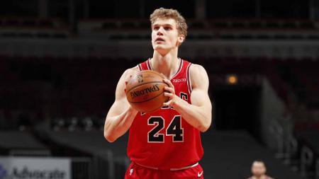 Lauri Markkanen, pebasket Chicago Bulls. - INDOSPORT