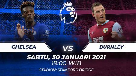 Berikut tersaji link live streaming pertandingan sepak bola Liga Inggris 2020-2021 antara Chelsea vs Burnley di Stamford Bridge. - INDOSPORT