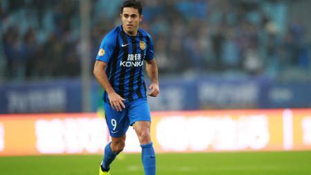 Pemain Incaran Inter Milan, Eder Martins saat Tampil di Liga China - INDOSPORT