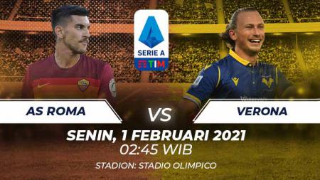 Link Live Streaming Serie A Liga Italia: AS Roma vs Verona - INDOSPORT