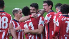 Indosport - Hasil Liga Spanyol Atletico Madrid vs Osasuna: Kian Dekat Juara!