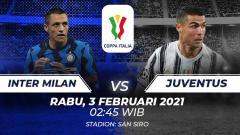 Indosport - Berikut kami pilihkan lima pertandingan Derby d'Italia paling melegenda di Coppa Italia antara Inter Milan melawan Juventus.