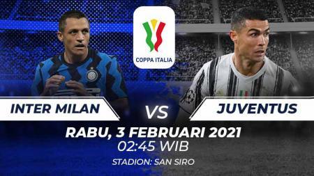 Inter milan vs Juventus. - INDOSPORT