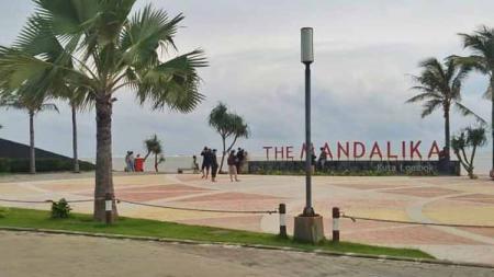 Pembangunan Sirkuit Mandalika, Lombok, NTB, menuai sorotan dari sejumlah pakar PBB karena dituding pelanggaran HAM. - INDOSPORT