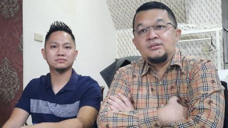 Presiden Sriwijaya FC Hendri Zainuddin beri isyarat posisi manajer tim tetap dipegang Muhammad Fadli meski yang bersangkutan telah mengundurkan diri. - INDOSPORT