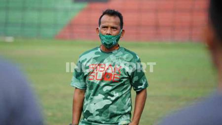 Asisten pelatih PSMS Medan musim lalu, Ansyari Lubis. - INDOSPORT