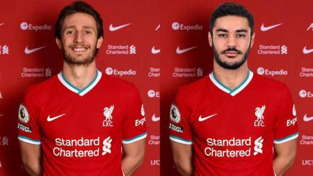 Ben Davies dan Ozan Kabak, calon duet mengerikan di jantung pertahanan Liverpool. - INDOSPORT