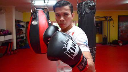 Paul Lumihi atlet MMA Indonesia. - INDOSPORT