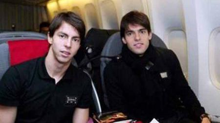 Digao pernah bermain di AC Milan, seperti sang kakak, Ricardo Kaka. - INDOSPORT