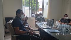 Indosport - Suasana Pemaparan Program PSIS Development.