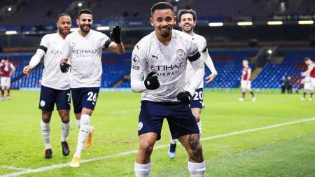 Hasil Liga Inggris Burnley vs Manchester City: The Citizen Terlalu Kuat. - INDOSPORT