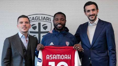 Cagliari resmi mendapatkan eks bintang Juventus yang juga merupakan pemain buangan Inter Milan secara gratis usai ditutupnya bursa transfer musim dingin. - INDOSPORT