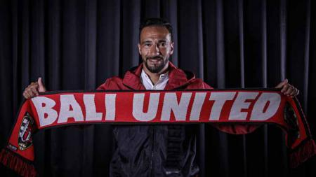 Gelandang asal Brasil milik Bali United, Diego Assis. - INDOSPORT