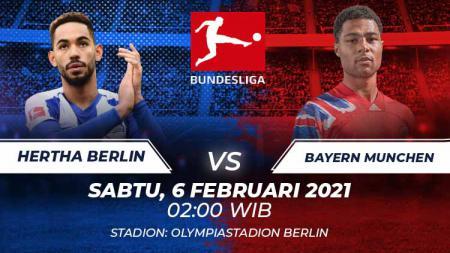 Hertha Berlinv vs Bayern Munchen. - INDOSPORT
