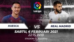 Indosport - Huesca vs Real Madrid.