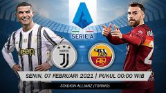 Indosport - Pertandingan Juventus vs AS Roma (Serie A).